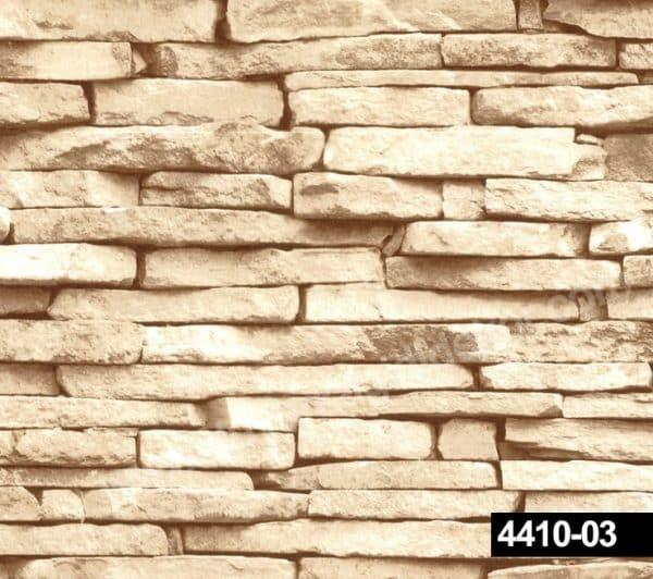 Taş desenli duvar kağıdı 4410-03