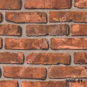 taş desenli duvar kağıdı 9006-01