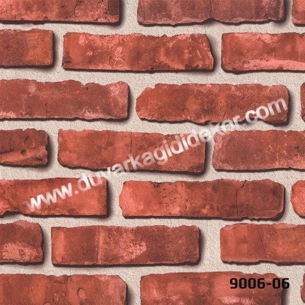 taş desenli duvar kağıdı9006-06